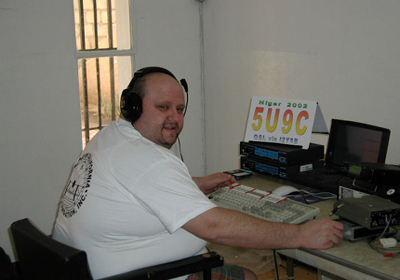 Paolo I2UIY DXpedition Niger 2002